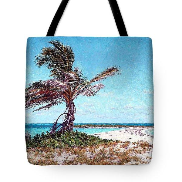 Twin Cove Palm Tote Bag