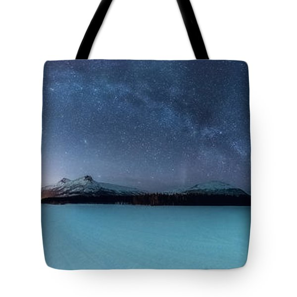 Twin Eruption Tote Bag