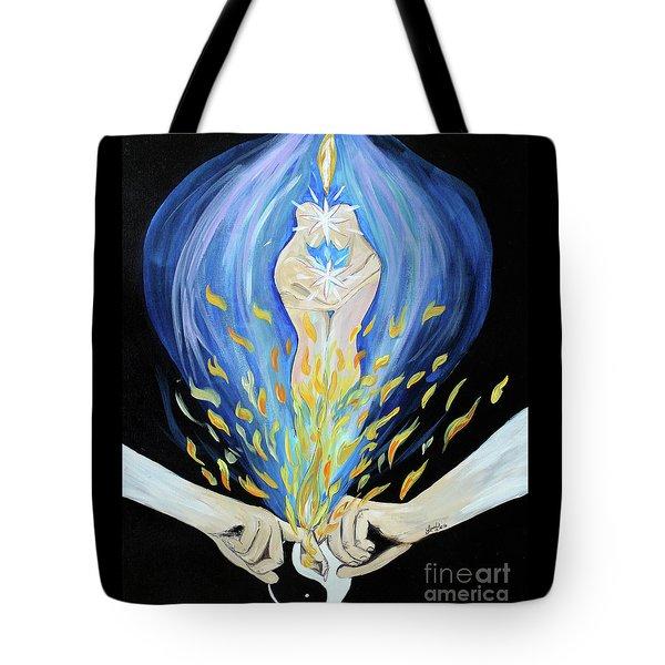 Twin Flame - Alive Tote Bag