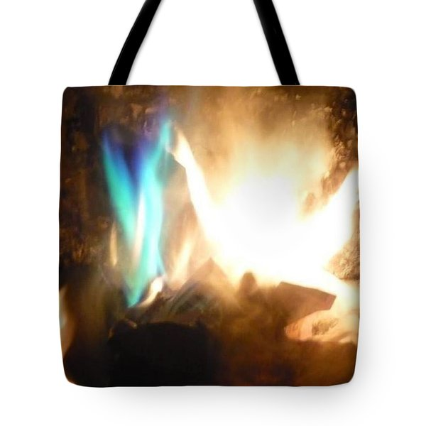 Twin Flame Tote Bag