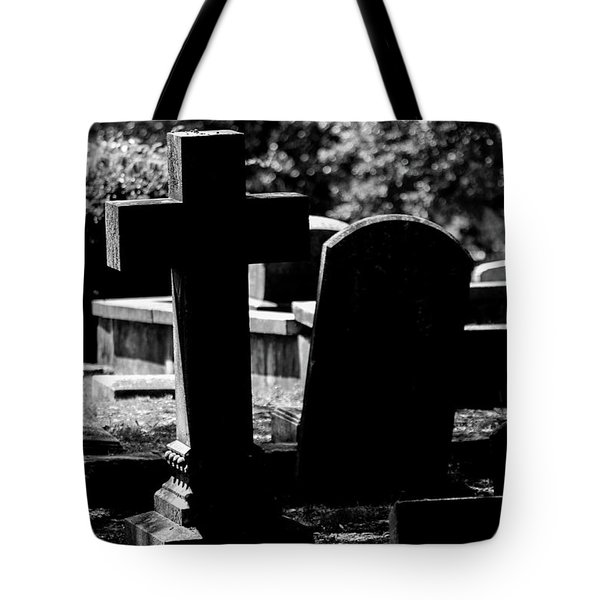 Twin Graves Tote Bag