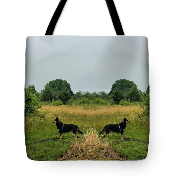 Twin Guards Tote Bag