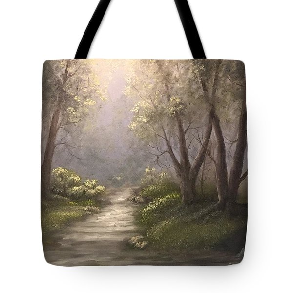 Twin Oaks  Tote Bag