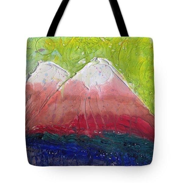 Twin Peaks II Tote Bag by Phil Strang