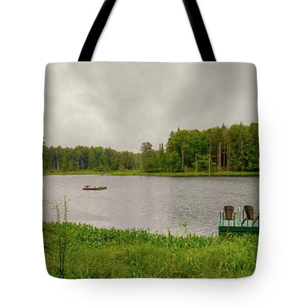 Tote Bag featuring the photograph Twin Ponds Landscape by David Patterson