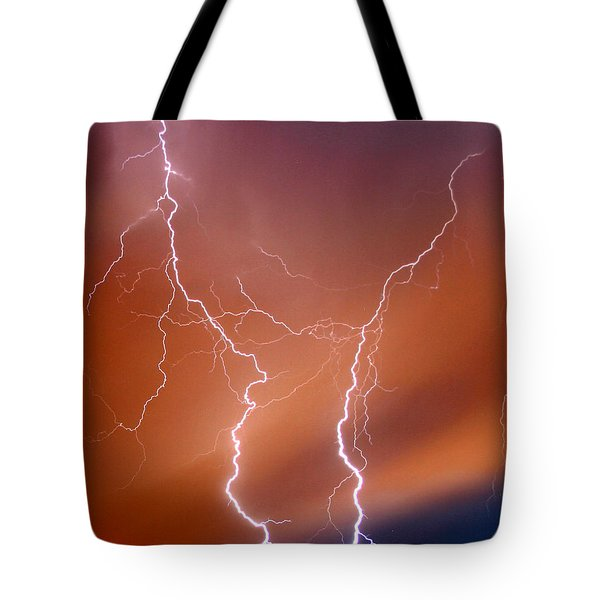 Twin Strike Tote Bag