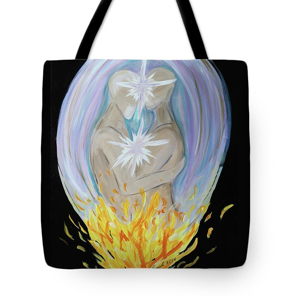 Twin Union Tote Bag
