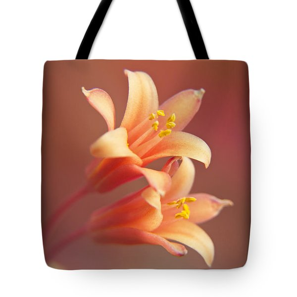 Twin Yucca Flowers Tote Bag