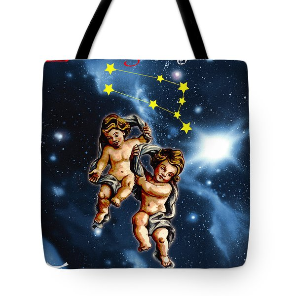 Twins Of Heaven Tote Bag