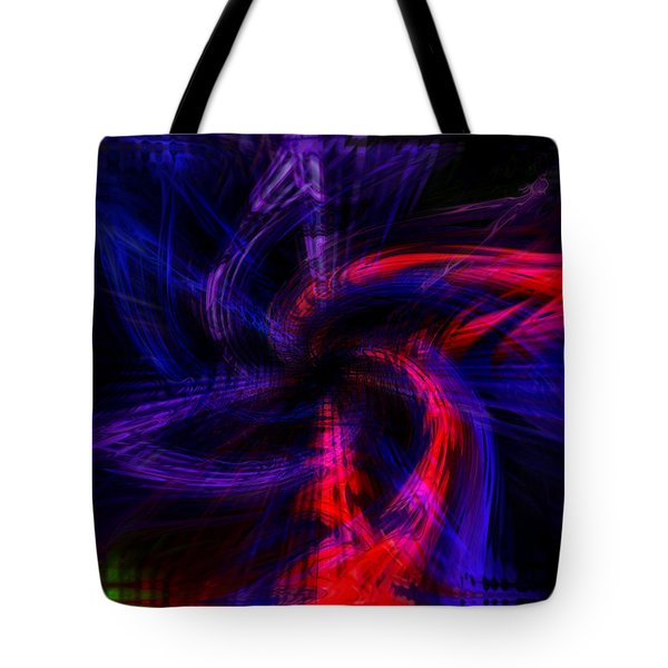 Twirled Star Tote Bag