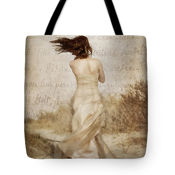 Twirling Painted Lady Tote Bag