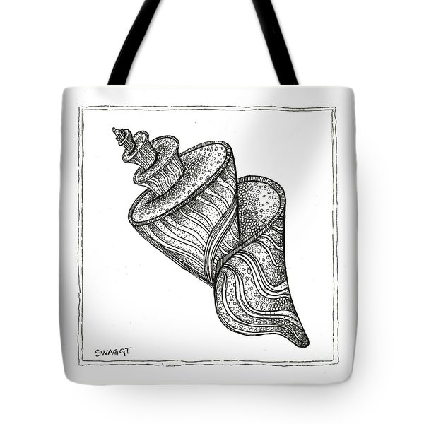 Twirly Shell Tote Bag