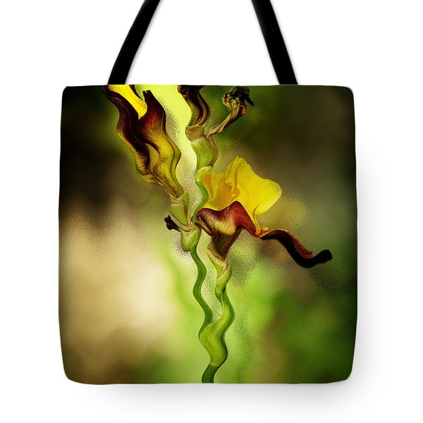 Twist Tote Bag by Diane Dugas