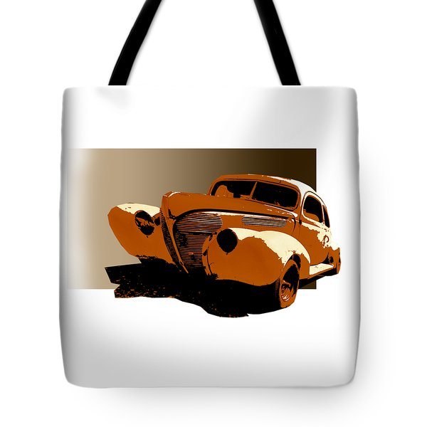Twisted 40 Tote Bag