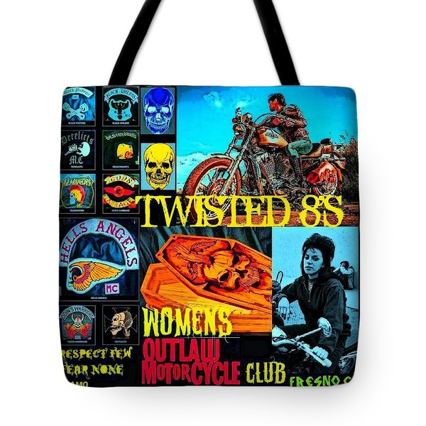 Twisted 8's Tote Bag by Tony Adamo