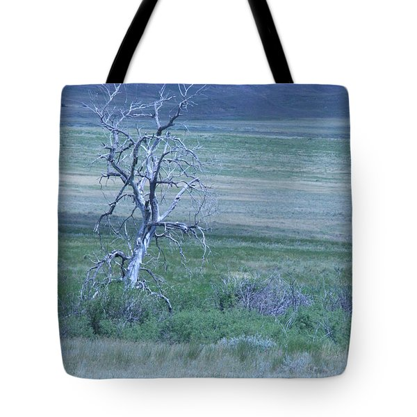 Tote Bag featuring the photograph Twisted And Free by Mary Mikawoz