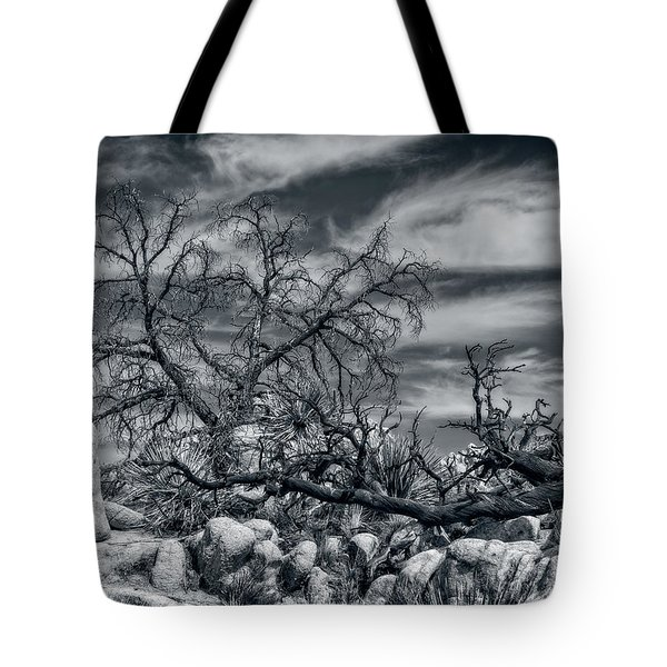 Twisted Branches Tote Bag
