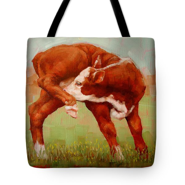 Twisted Calf Tote Bag by Margaret Stockdale