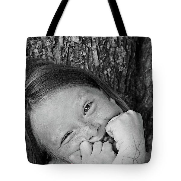 Twisted Expression Tote Bag