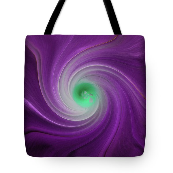 Twisted Glory 3 Tote Bag by Michael Peychich