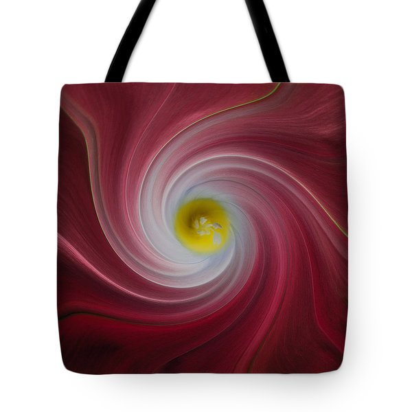 Twisted Glory Two Tote Bag by Michael Peychich