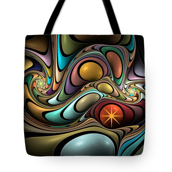 Twisted Tote Bag by Kim Redd