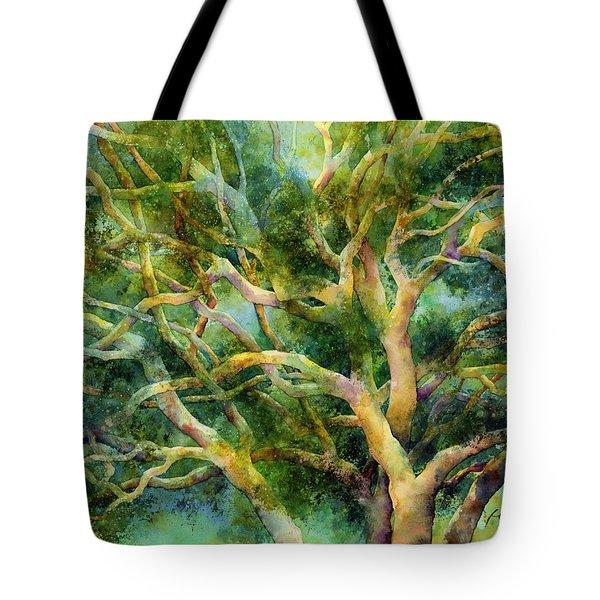Twisted Oak Tote Bag