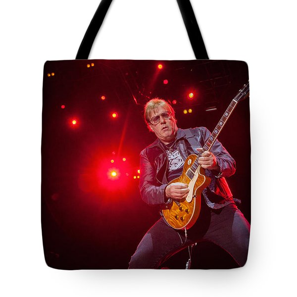Tote Bag featuring the photograph Twisted Sister - Jay Jay French by Stefan Nielsen