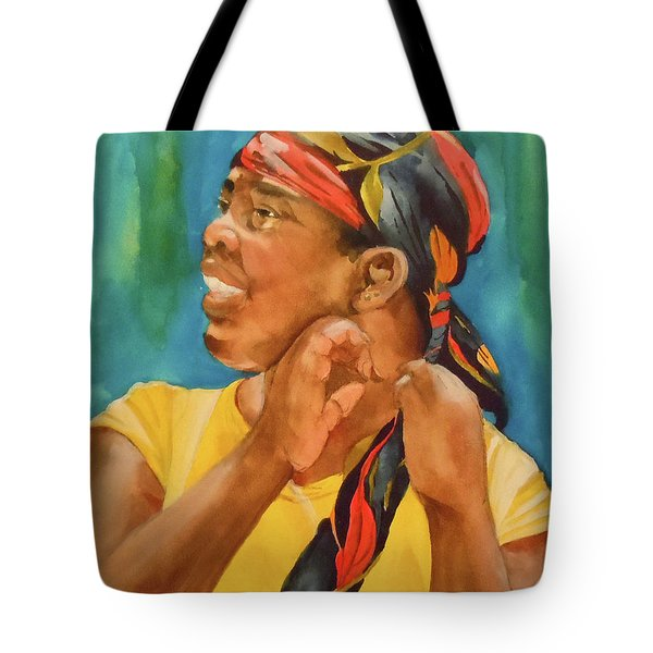 Twisted Sister Tote Bag by Jean Blackmer