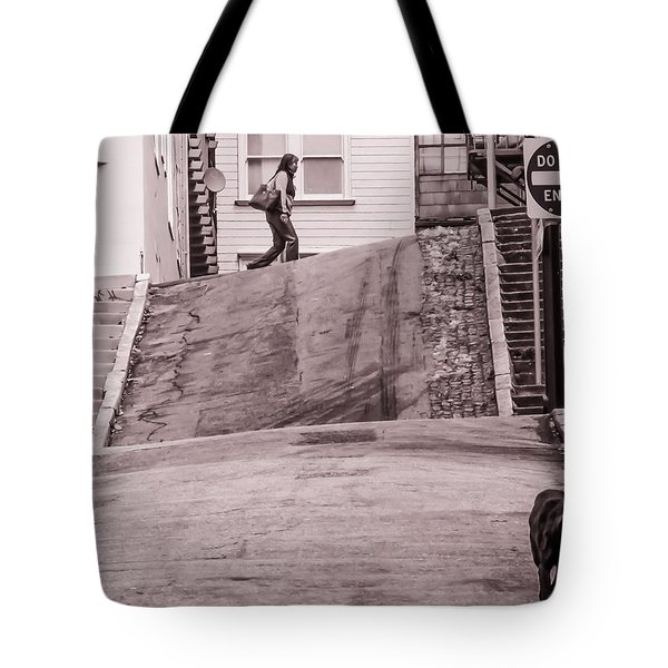 Twisted Street Tote Bag