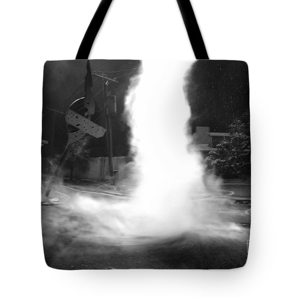 Twister In The Neighborhood Tote Bag by David Lee Thompson