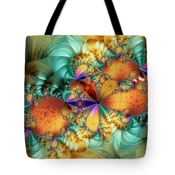 Twister Tote Bag by Kim Redd