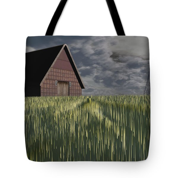 Twister Tote Bag by Michele Wilson