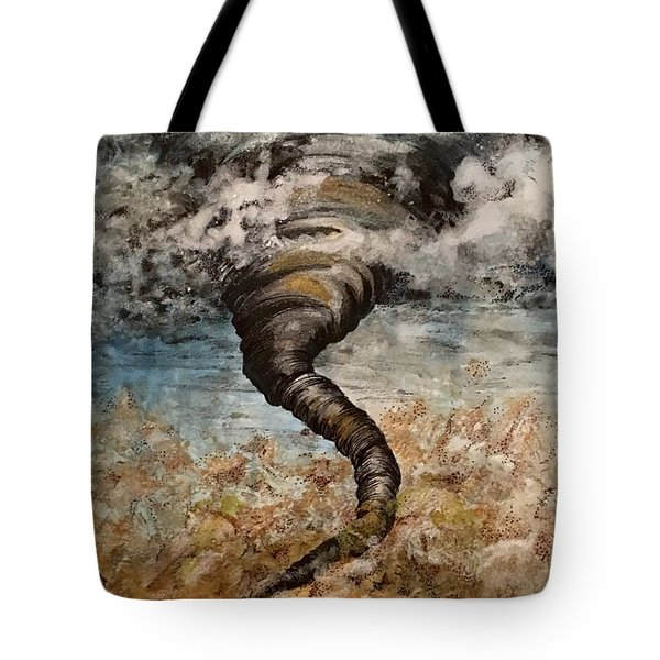 Twister On The Colorado Plains Tote Bag