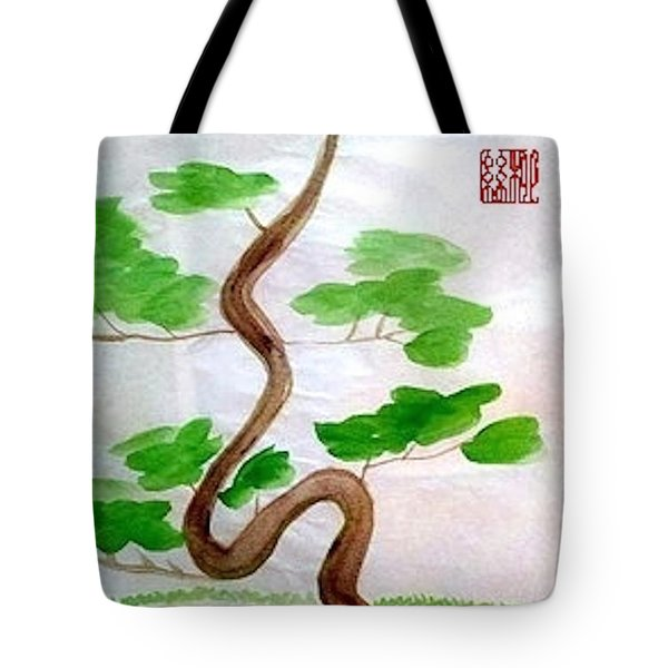 Twists And Turns Of Life Tote Bag