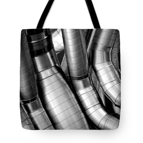 Twisty Tubes Tote Bag