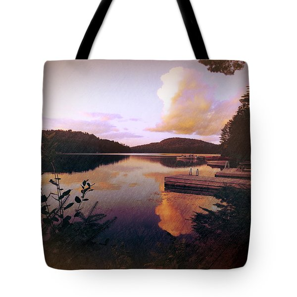 Twitchell At Sunset Tote Bag