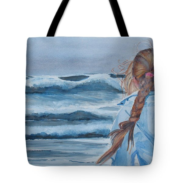 Twixt Wind And Water II Tote Bag