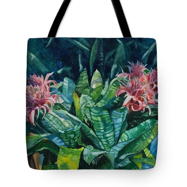Two Against Three Tote Bag by Elizabeth Carr