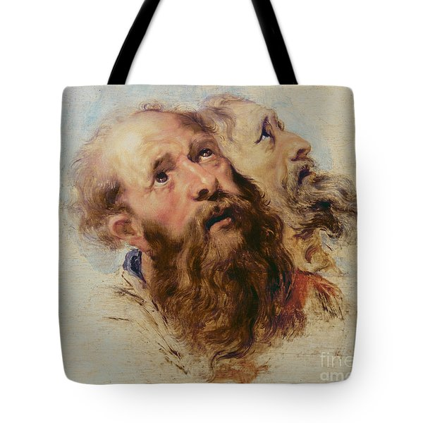 Two Apostles Tote Bag by Rubens