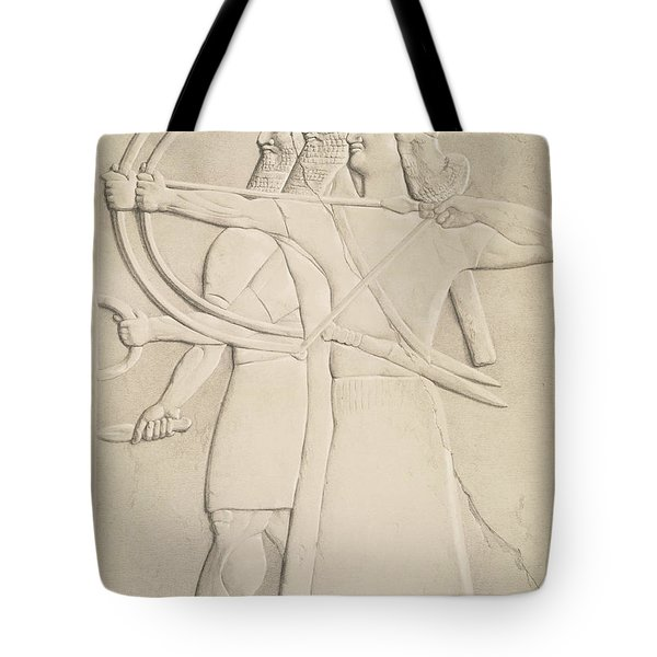Two Archers And A Shield Bearer, Tote Bag