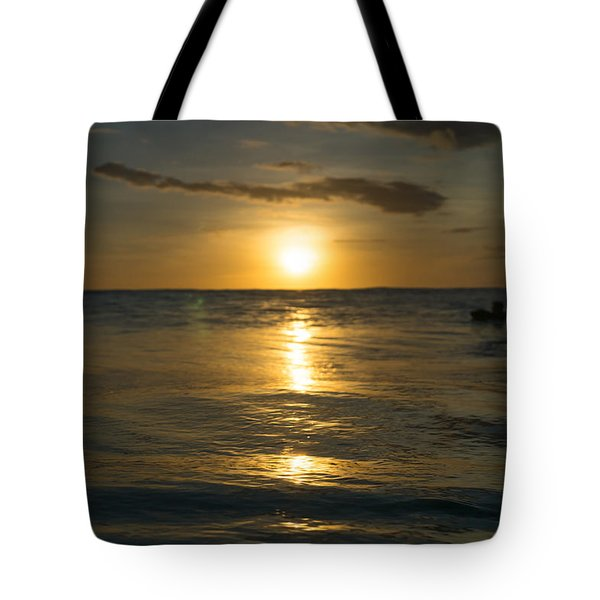 Two At Sunset Tote Bag