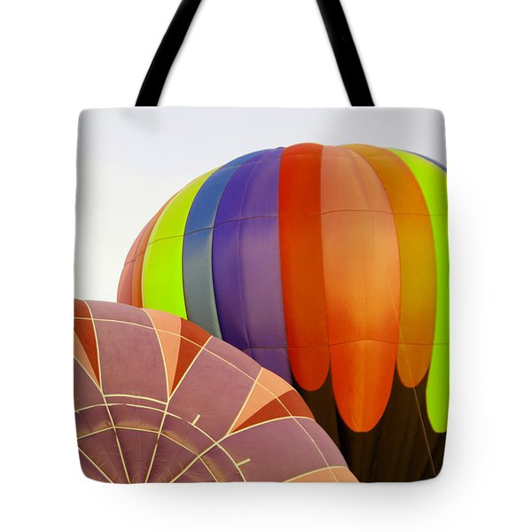 Two Balloons Rising  Tote Bag
