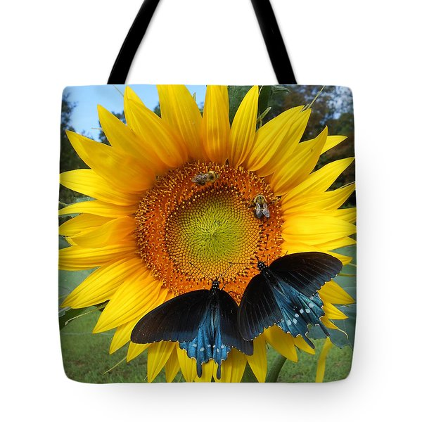 Two Bees And Not Two Bees Tote Bag