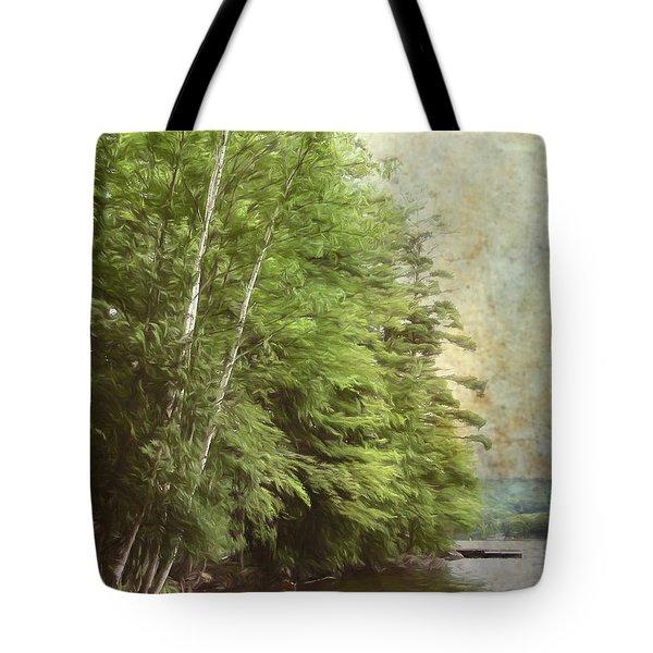 Two Birches Tote Bag