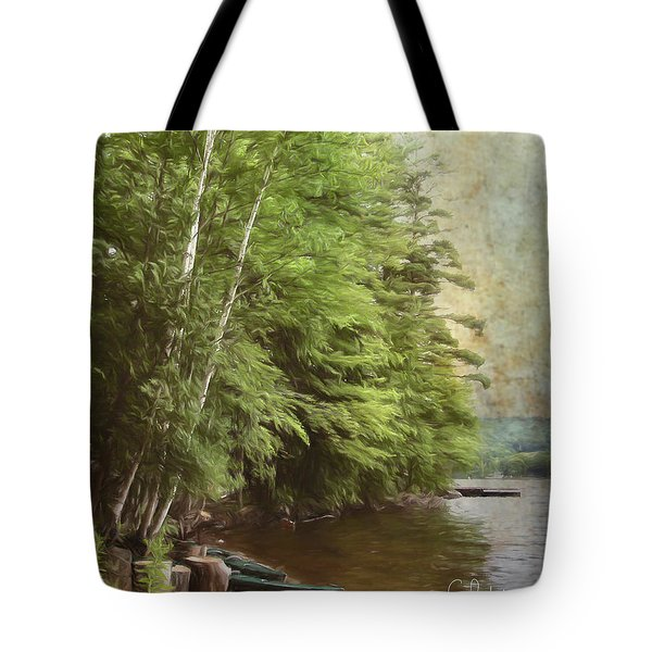 Two Birches Tote Bag