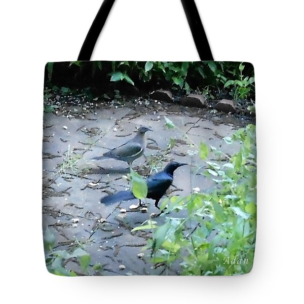 Tote Bag featuring the photograph Two Birds by Felipe Adan Lerma