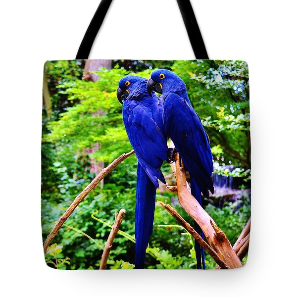 Two Birds Of A Feather Tote Bag