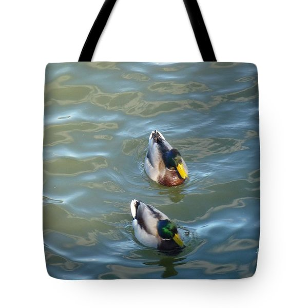 Two Brothers Tote Bag by Jean Bernard Roussilhe