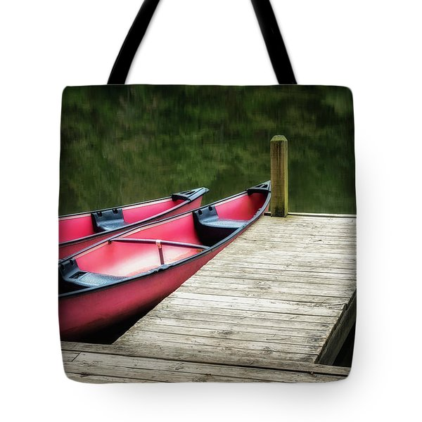 Two Canoes Tote Bag